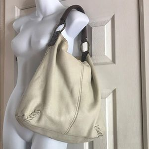Lucky Brand Whipstitch Slouchy Hobo Shoulder Purse
